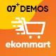 Ap Ekommart - Multipurpose Shopify Theme - ThemeForest Item for Sale
