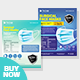 Product Flyer Bundle - Disposable Surgical Mask Flyer Template - GraphicRiver Item for Sale
