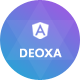 Deoxa - Angular 10 Landing Page Template - ThemeForest Item for Sale