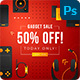 Electronics Social media Sales Template - GraphicRiver Item for Sale
