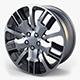 Car Rim Wheel 18 Silver Gen 1 - 3DOcean Item for Sale
