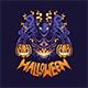 Pumpkin Halloween Monster - GraphicRiver Item for Sale
