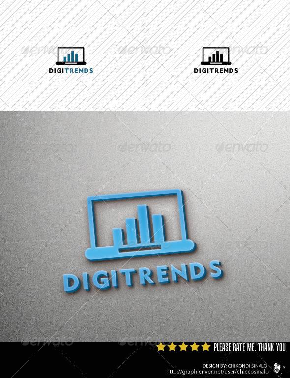 Digi Trends Logo Template