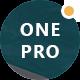 OnePro - Responsive Onepage WordPress Theme - ThemeForest Item for Sale