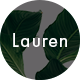 Lauren - Clean & Minimal Blog WordPress Theme - ThemeForest Item for Sale