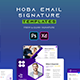 Hoba | Email Signature Template - GraphicRiver Item for Sale