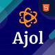Ajol - Creative Agency Portfolio HTML Template - ThemeForest Item for Sale