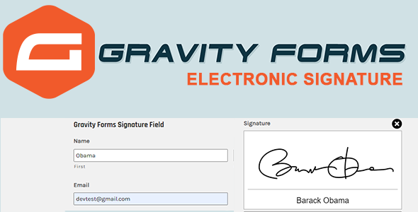 Download Gravity Forms Digital  Signature Nulled