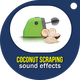 Coconut Scraping Machine Sounds