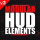 Modular HUD Elements - VideoHive Item for Sale