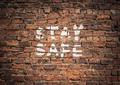 Coronavirus Stay Safe Graffiti - PhotoDune Item for Sale