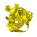 Tangled Yellow Tape Measure - PhotoDune Item for Sale