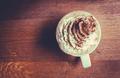 Pumpkin Spice Latte In A Cafe - PhotoDune Item for Sale