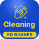 Perfect Cleaning - HTML 5 Animated Google Banner - CodeCanyon Item for Sale