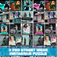 3 PSD Japanese Streetwear Instagram Feed Puzzle - GraphicRiver Item for Sale