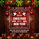 Merry Christmas & Happy New Year Social Media Banner - GraphicRiver Item for Sale