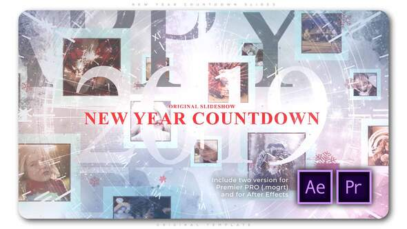 New Year Countdown Slides