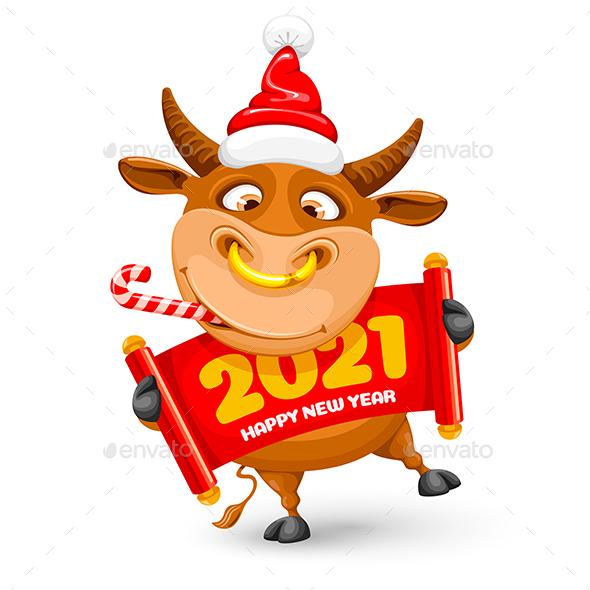 New Years Bull