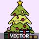 15 Christmas Scene Icon - GraphicRiver Item for Sale