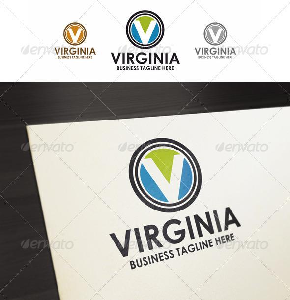 V-Letter - Virginia Logo