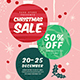 Christmas Sale Event Flyer - GraphicRiver Item for Sale