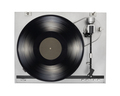 Turntable with LP vinyl record isolated on white. - PhotoDune Item for Sale