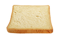 Slice of clean toasted bread isolated on white background. - PhotoDune Item for Sale