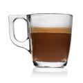 Mug of espresso coffee with milk isolated - PhotoDune Item for Sale