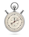 Mechanical stopwatch isolated on white background. - PhotoDune Item for Sale