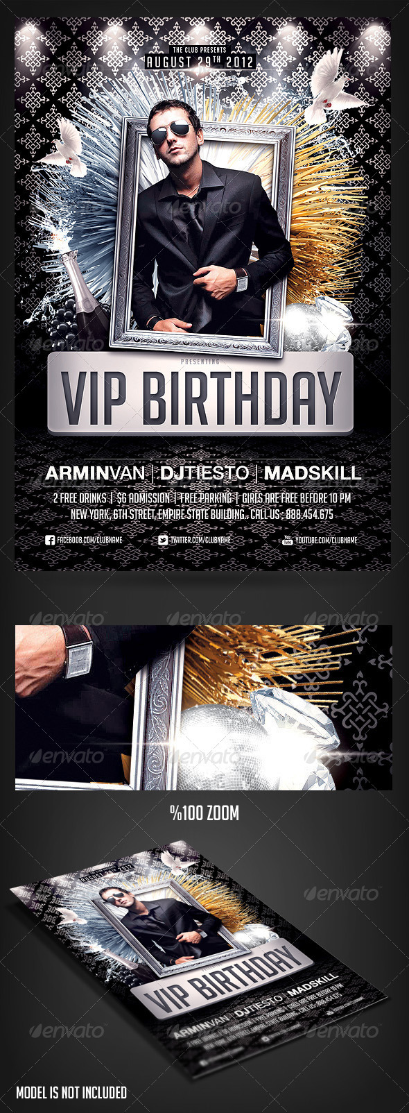 5Th Birthday Graphics, Designs & Templates from GraphicRiver