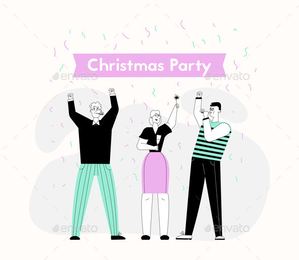 Christmas Party and Happy New Year Celebration