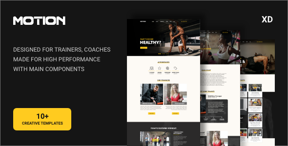 MTN - Fitness & Healthy Lifestyle Template