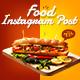 Food Promo Instagram Post V25 - VideoHive Item for Sale