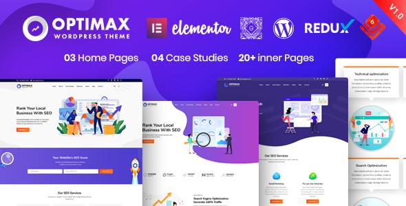 Optimax – SEO & Marketing WordPress Theme