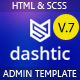 Dashtic - HTML Admin Template - ThemeForest Item for Sale