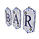 old stone bar sign 3D model - 3DOcean Item for Sale