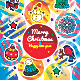 Merry Christmas Greeting Cards. New Year Posters - GraphicRiver Item for Sale
