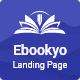 Ebookyo - Ebook HTMLLanding Page Template - ThemeForest Item for Sale
