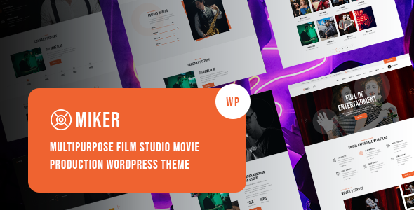 Download Miker – Movie and Film Studio WordPress Theme Nulled