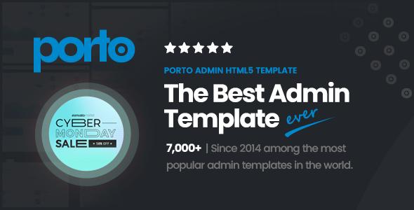 Porto Admin – Responsive HTML5 Template