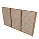 wooden separator 3D model - 3DOcean Item for Sale