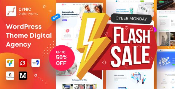 Agency Cynic - Digital Agency, Startup Agency, Creative Agency WordPress Theme
