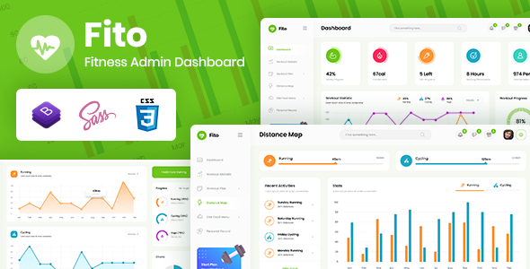 Download Fito – Fitness Admin Dashboard Template Nulled