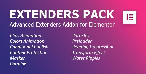 Download Extenders Pack: Advanced Extenders Addon for Elementor WordPress Plugin Nulled