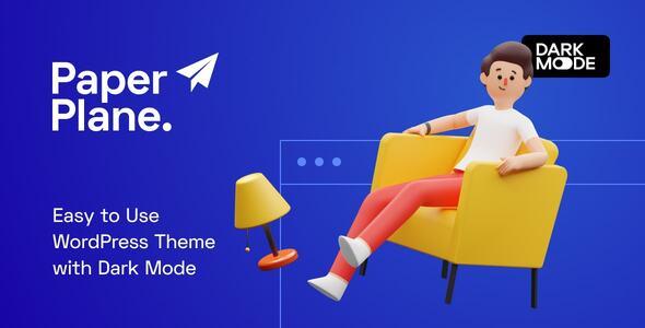 Paper Plane - Easy to Use WordPress Blog Theme