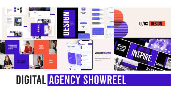 Digital Agency Web Showreel