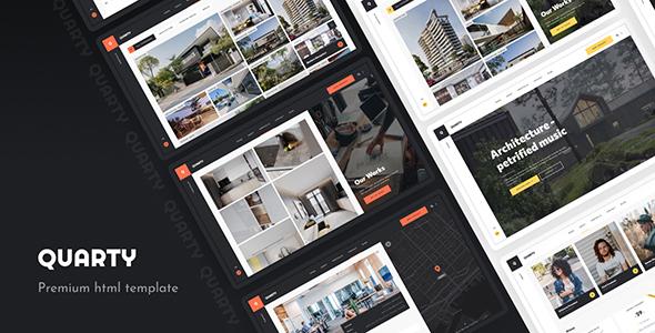 Download Quarty – Architecture Interior Design Nulled