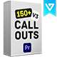 Big Pack Call-Outs | Premiere Pro - VideoHive Item for Sale