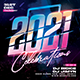 2021 New Year Party Flyer - GraphicRiver Item for Sale