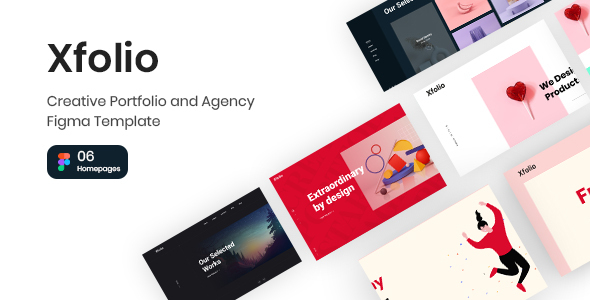Download Xfolio – Creative Portfolio and Agency Figma Template Nulled